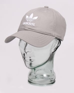 Adidas Originals Trefoil Baseball Cap Grey