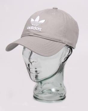 Adidas Originals Trefoil Baseball Cap Grey