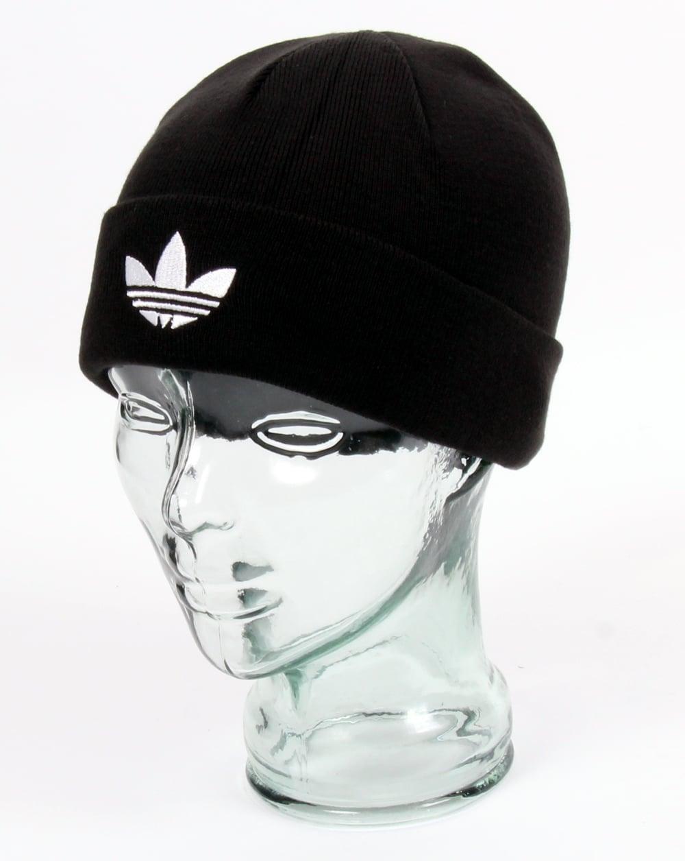 02945e8d260 adidas Originals Adidas Originals Trefoil Beanie Black
