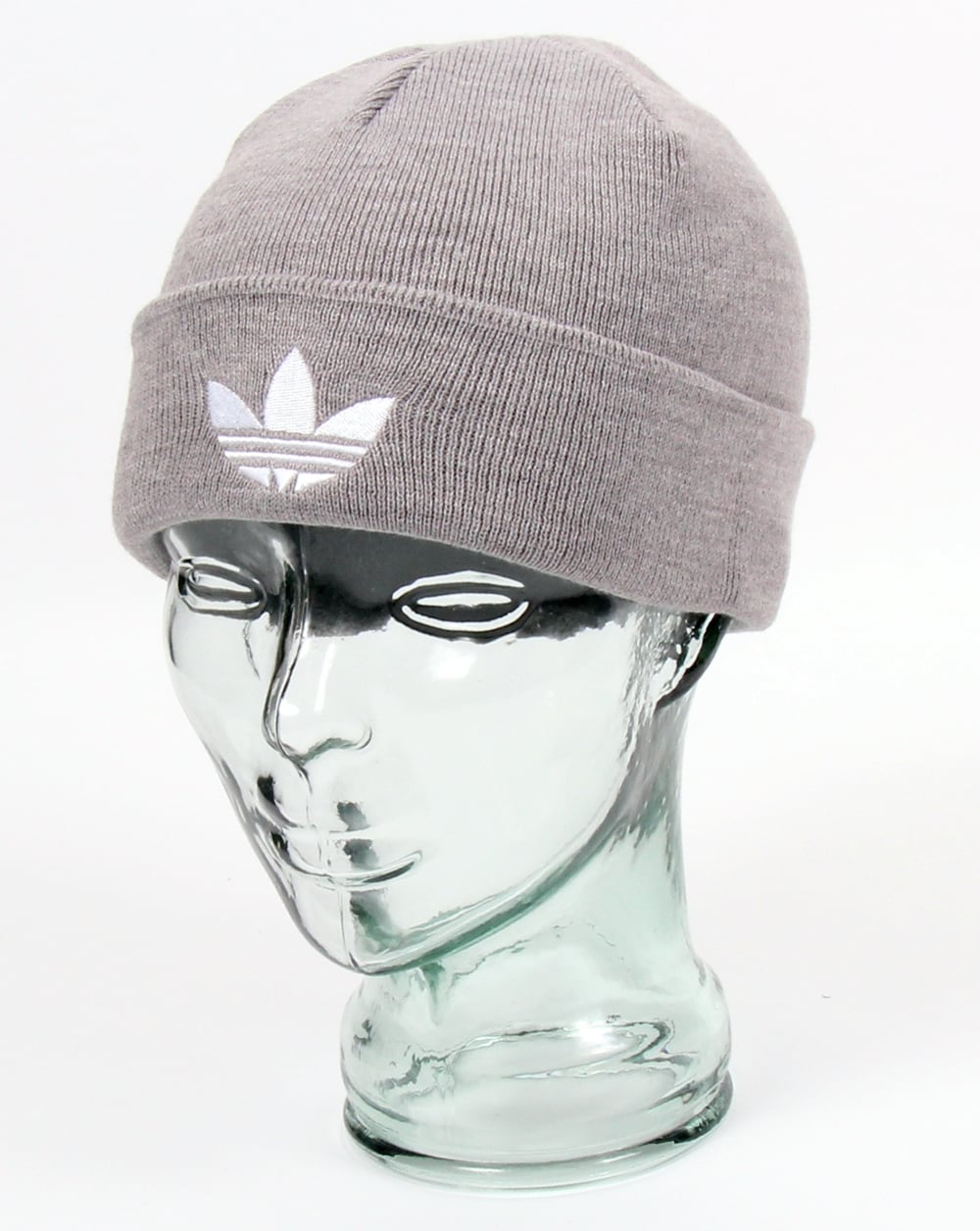 Originals Trefoil Grey Beanie Men's Adidas FBqAgA