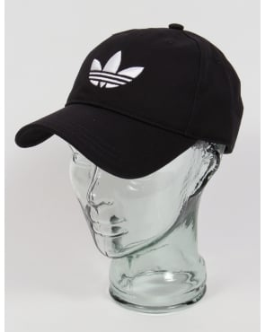 Adidas Originals Trefoil Cap Black/White