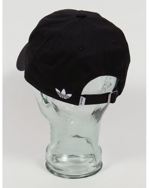 ecce8970e30 Adidas Originals Trefoil Cap Black White