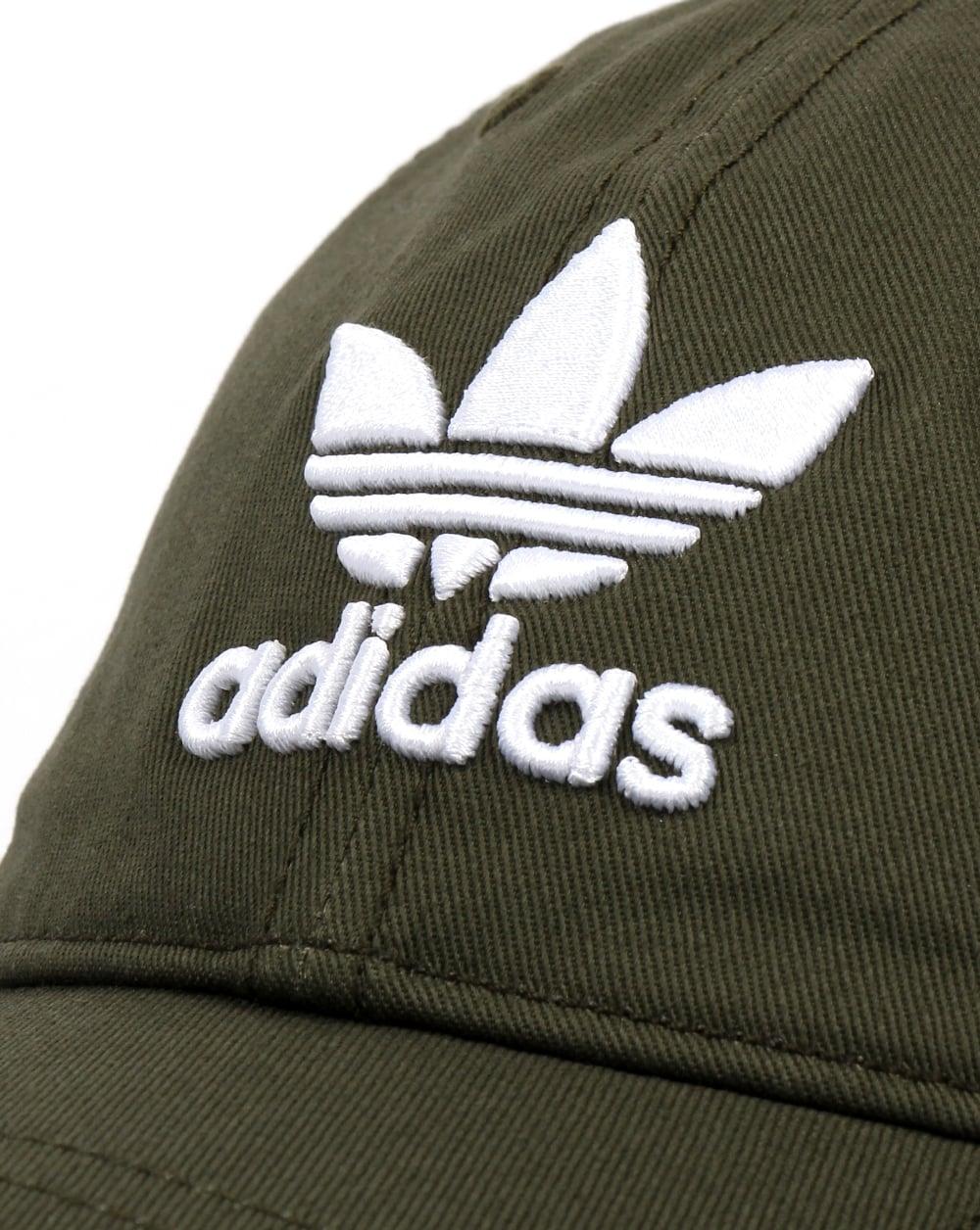 505ba7367 Adidas Originals Trefoil Cap Night Cargo