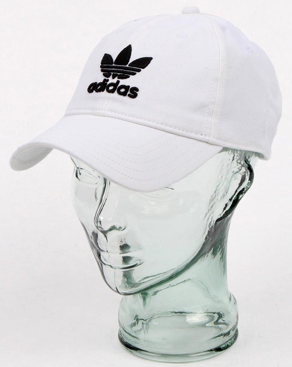 f1665500d1d adidas Originals Adidas Originals Trefoil Cap White black