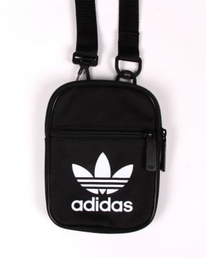 Adidas Originals Trefoil Festival Bag Black