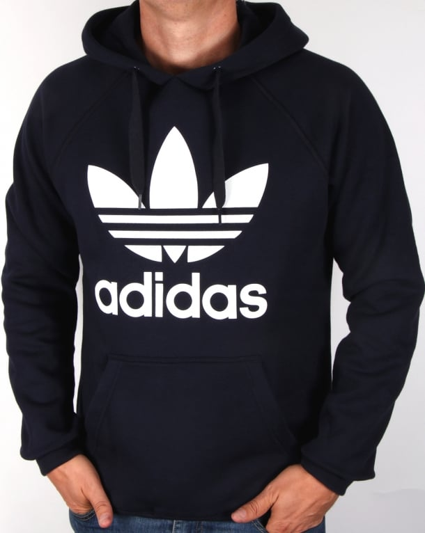 Adidas Originals Trefoil Hoody Legend Ink