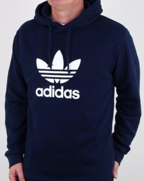 Adidas Originals Trefoil Hoody Navy