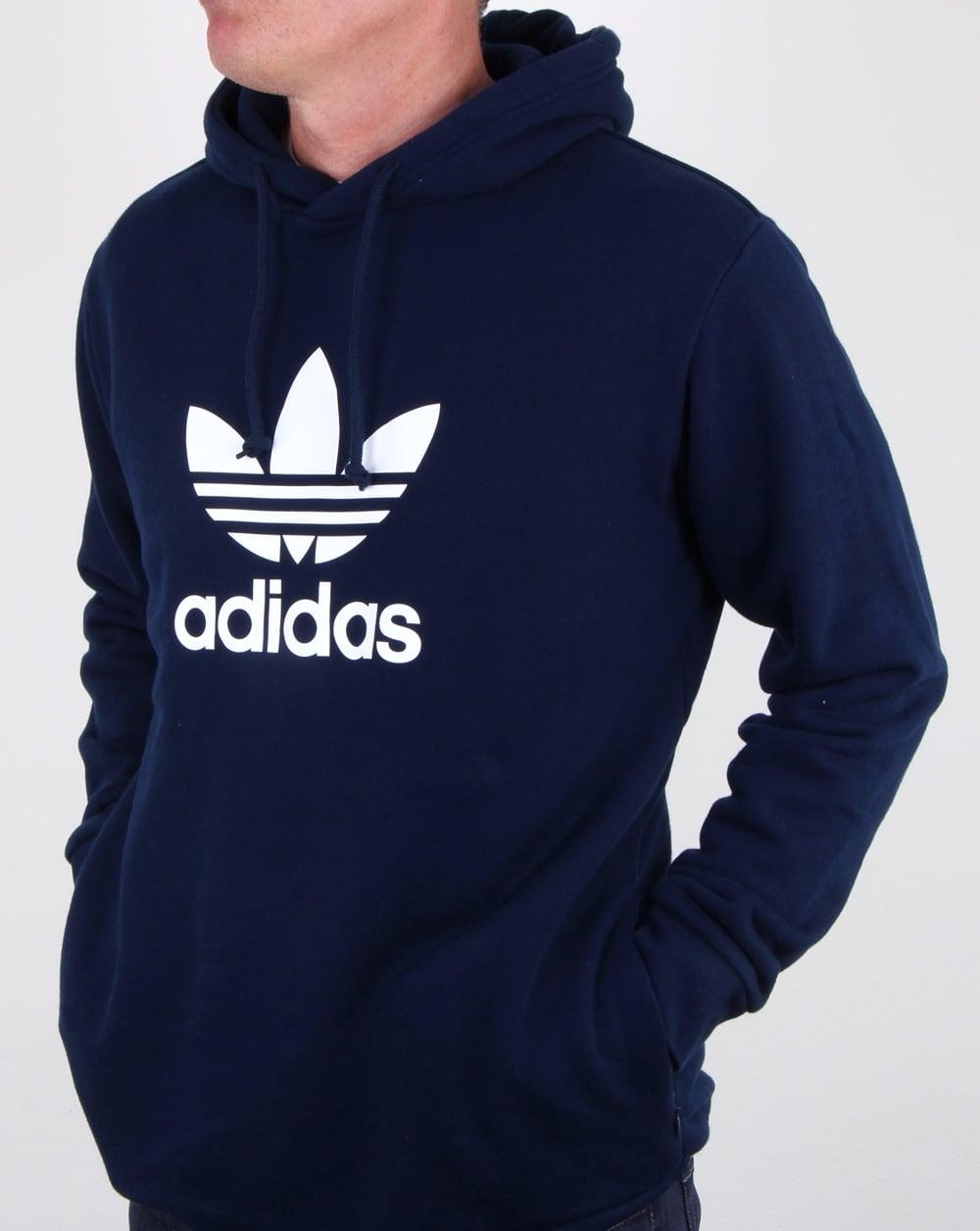 adidas Originals Trefoil Hoodie | Schwarz | Pullover Hoodies