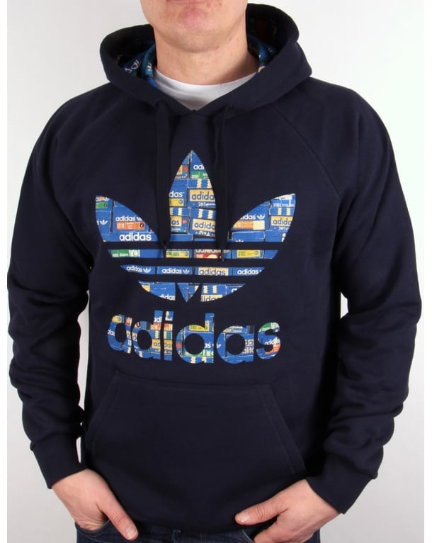 Adidas Originals Trefoil Shoe Box Hoody Legend Ink