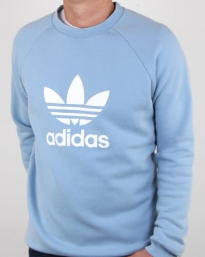 Adidas Originals Trefoil Sweatshirt Ash Blue