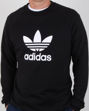 Adidas Originals Trefoil Sweatshirt Black