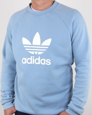 Adidas Originals Trefoil Sweatshirt sky