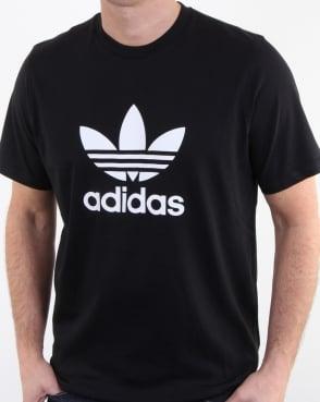 Adidas Originals Trefoil T Shirt Black