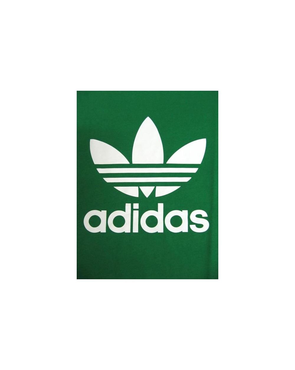 Adidas Originals Trefoil T-shirt With Large Logo Green