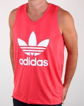 Adidas Originals Trefoil Tank Vest Core Pink
