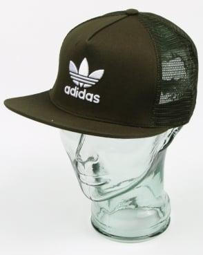 Adidas Originals Trefoil Trucker Cap Night Cargo