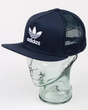 Adidas Originals Trefoil Trucker Cap Rich Blue