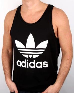 Adidas Originals Trefoil Vest Black