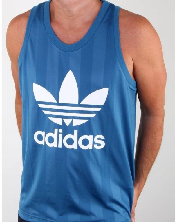 Adidas Originals Trefoil Vest Core Blue