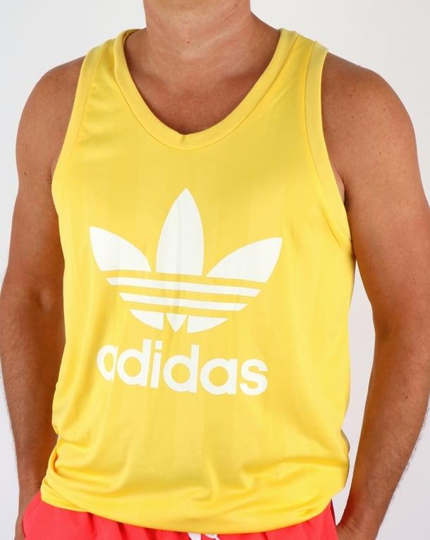 Adidas Originals Trefoil Vest Spring Yellow
