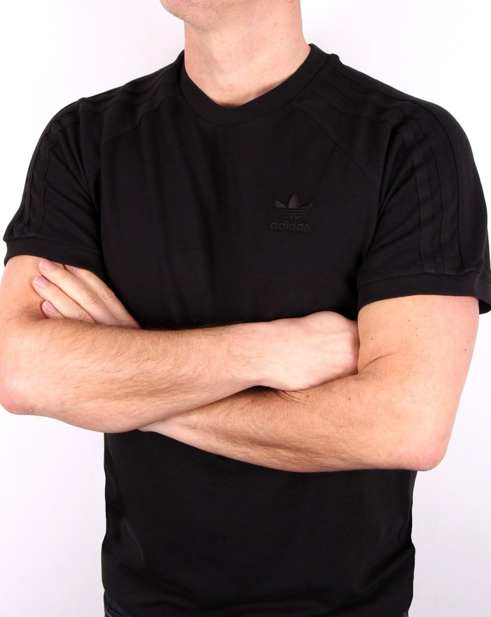 7e8259a6ab5 adidas Originals Adidas Originals Triple Stripe T Shirt Black