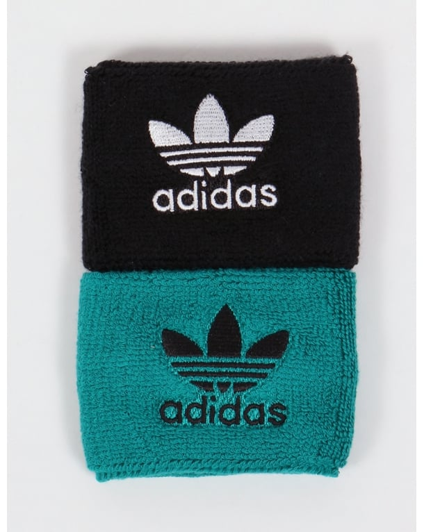 Adidas Originals Wristbands Black/EQT Green