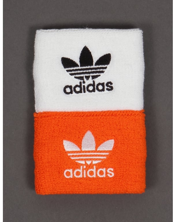 Adidas Originals Wristbands White/orange/black
