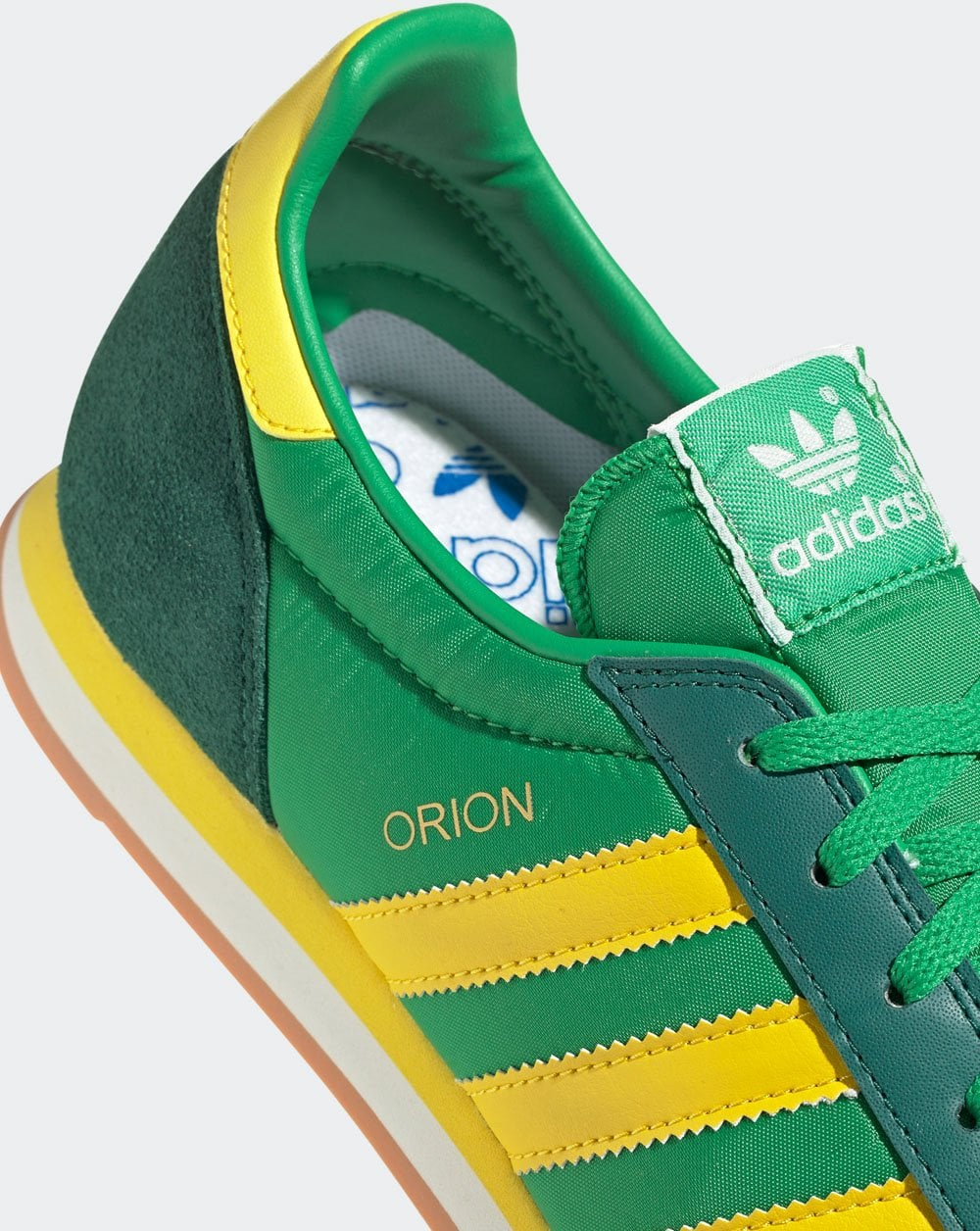 Adidas Orion Trainers Vivid Green/Yellow