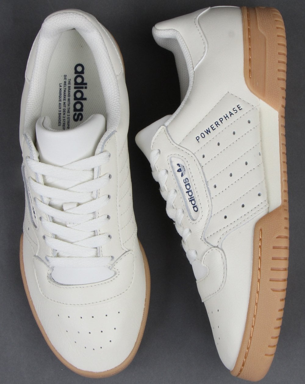 Adidas Powerphase Trainers Off White