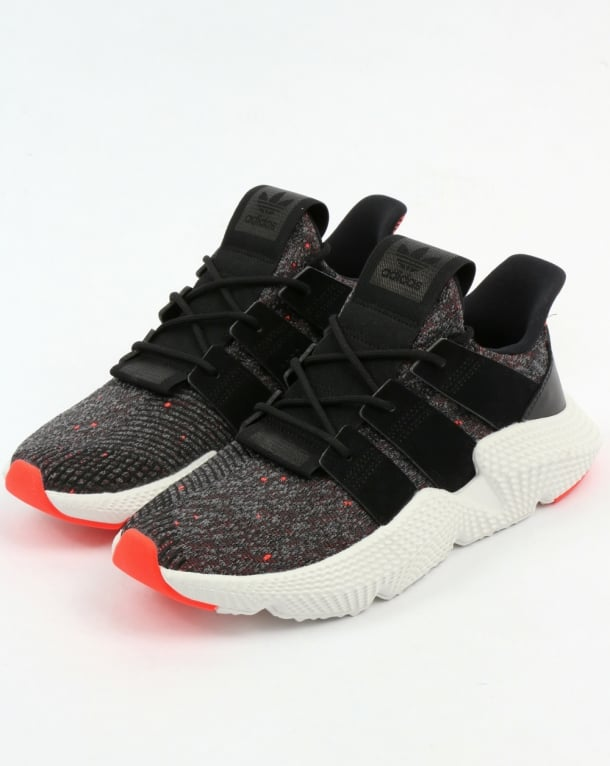 Adidas Prophere Trainers Black/Black/Solar Red