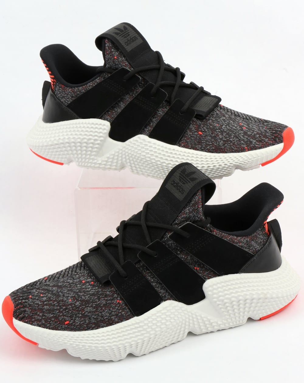 Adidas Prophere Trainers Black Black Solar Red 76af66611