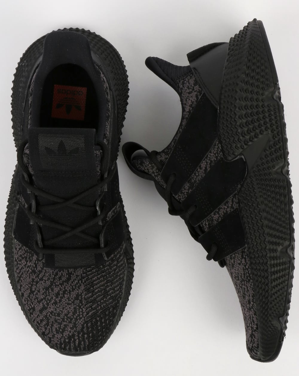 official photos dd97c 1cd07 Adidas Prophere Trainers Core Black Core Black Red