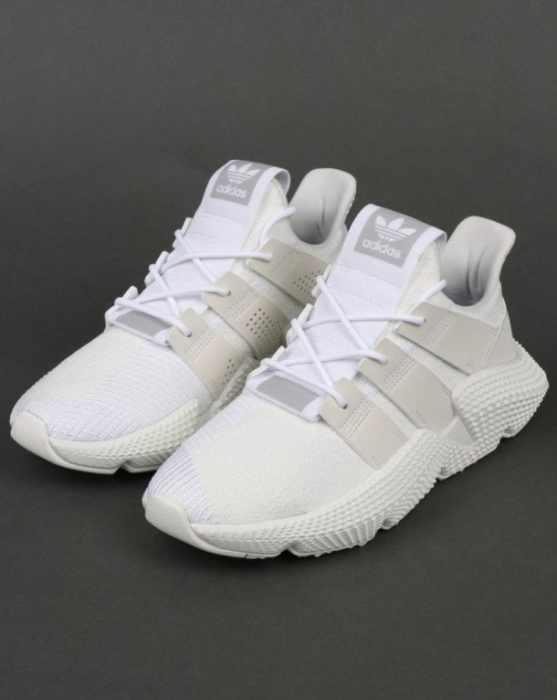 adidas Originals PROPHERE - Trainers - footwear white/crystal white dp2D75H