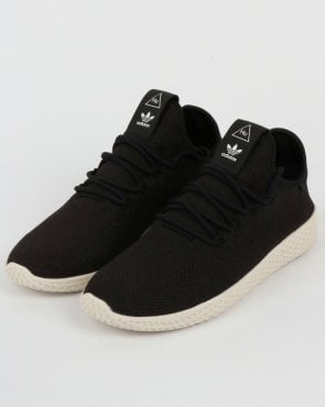 adidas Trainers Adidas PW Tennis HU Trainers Black/Black/White