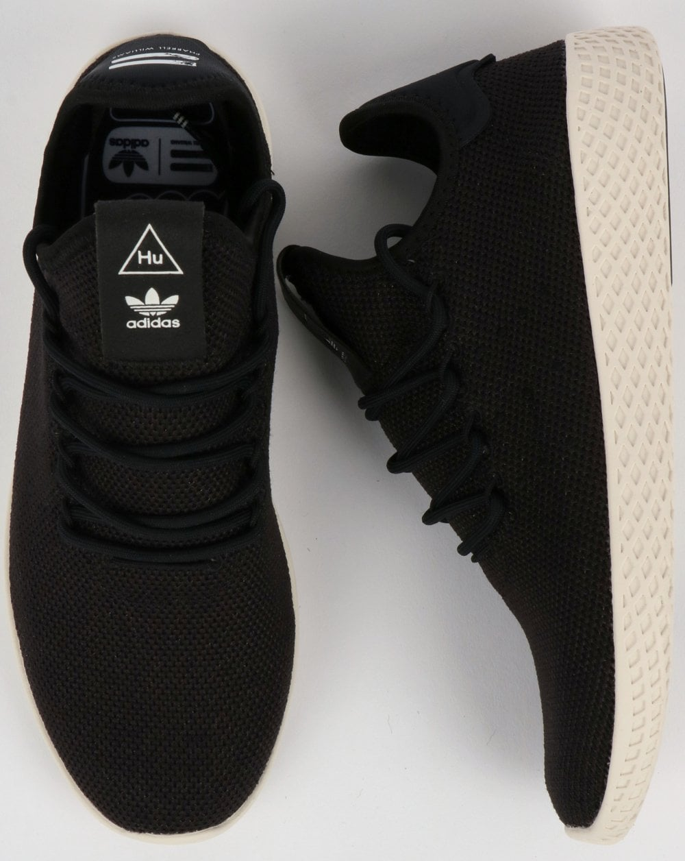 Adidas PW Tennis HU Trainers Black/Black/White