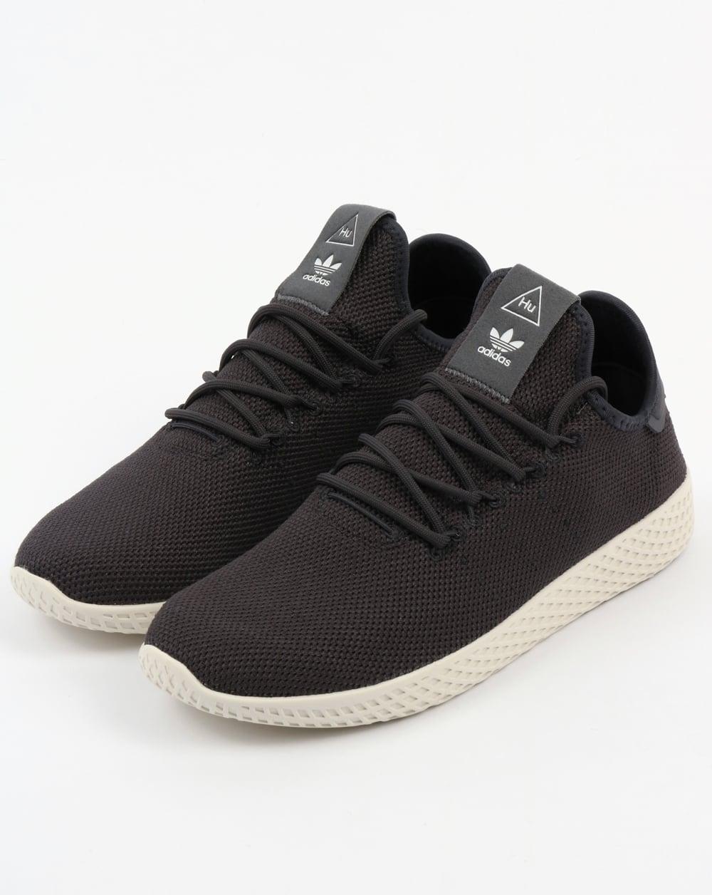suspicaz Oxidar Estadístico  Adidas PW Tennis HU Trainers Carbon/White,pharrell williams,shoes