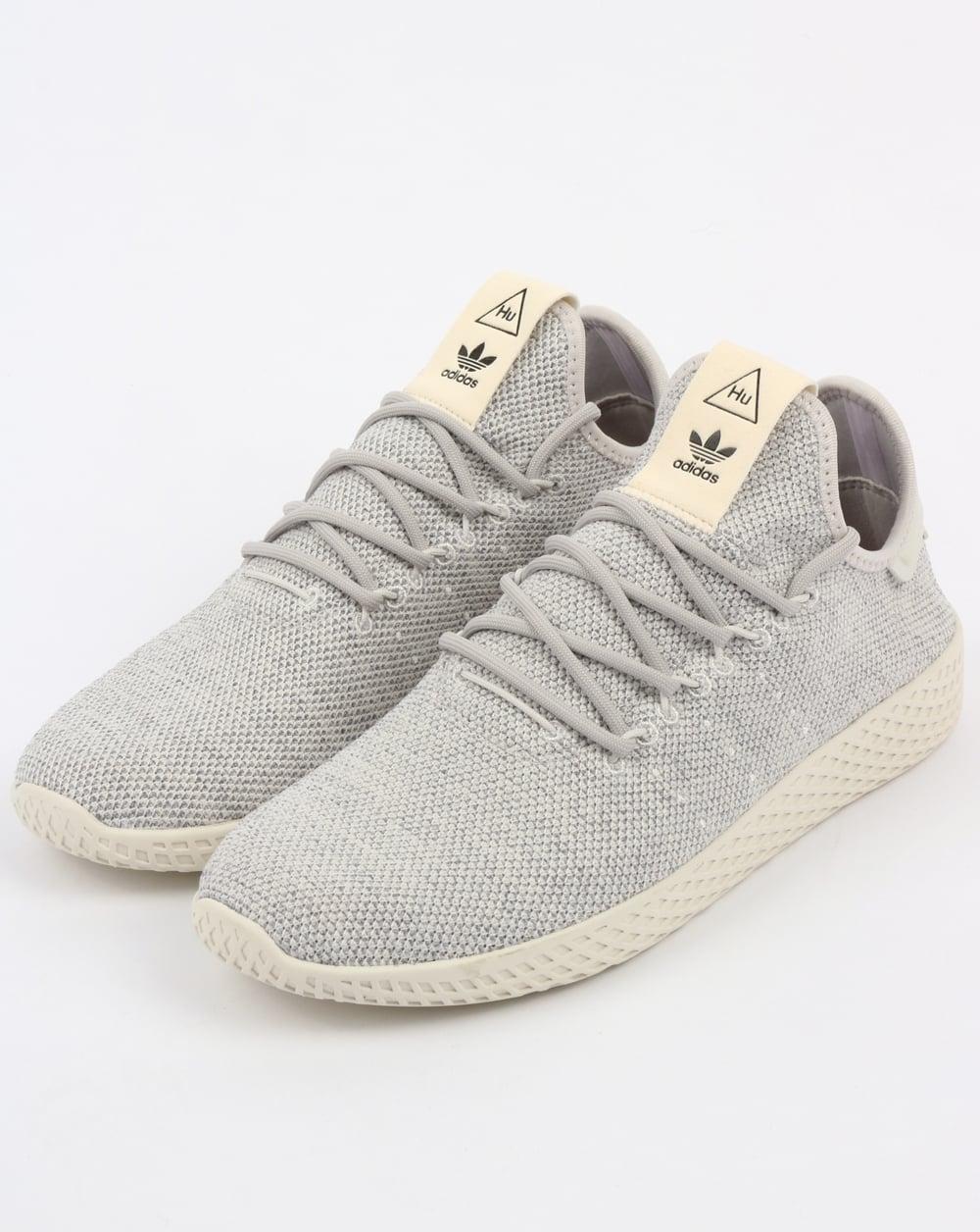funzionario di vendita caldo disponibilità nel Regno Unito modellazione duratura Adidas PW Tennis HU Trainers Grey/White,pharrell williams,shoes