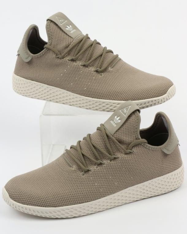 Adidas PW Tennis HU Trainers Tech Beige/White