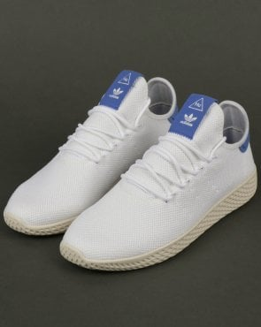 adidas Trainers Adidas PW Tennis HU Trainers White/Blue