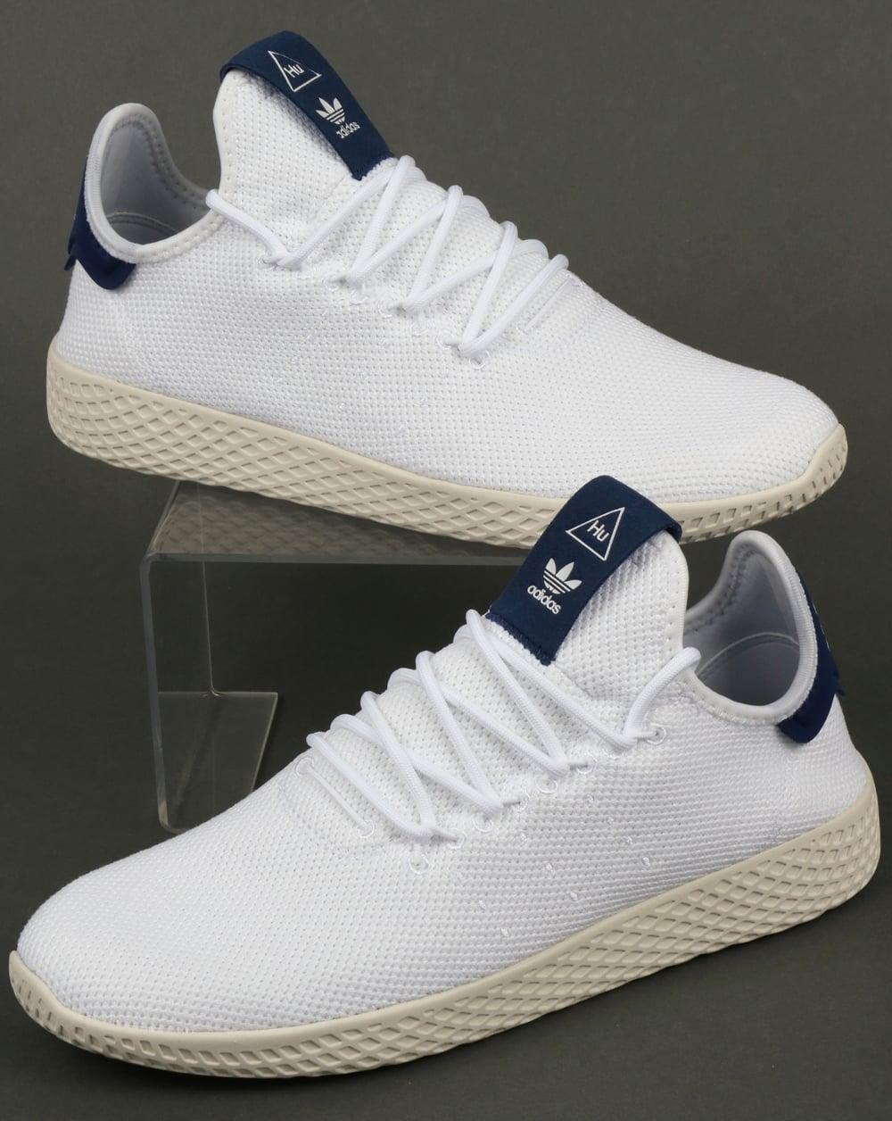 Adidas PW Tennis HU Trainers White/Navy