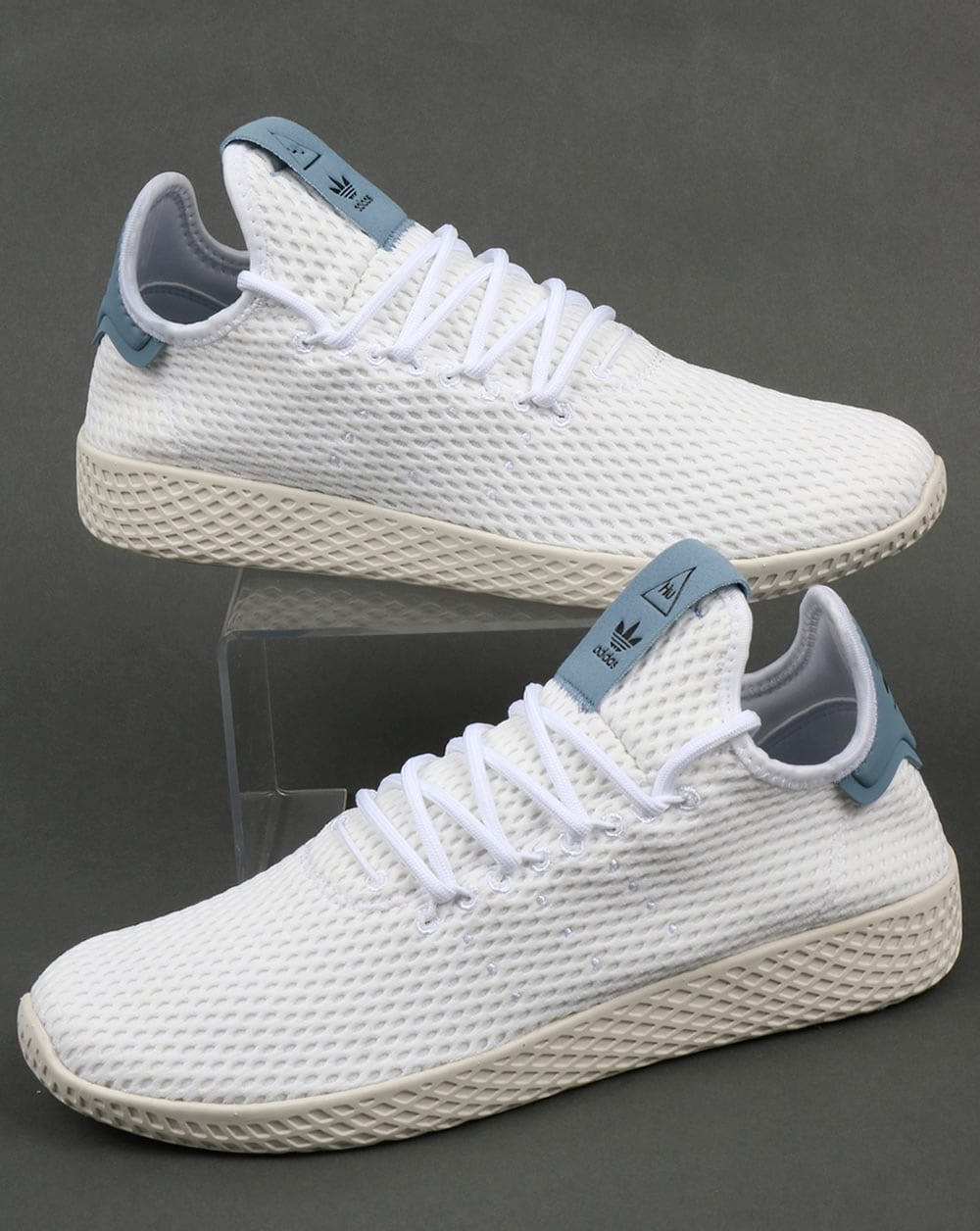 865a4c9f5 adidas Trainers Adidas PW Tennis HU Trainers White Tactile Blue