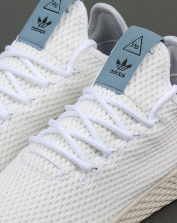 Adidas PW Tennis HU Trainers White/Tactile Blue