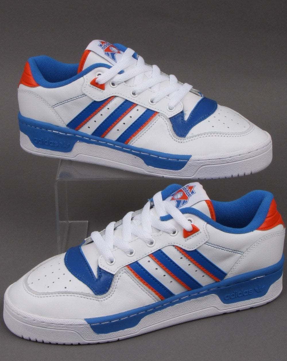 Adidas Rivalry Low Trainer White/Blue