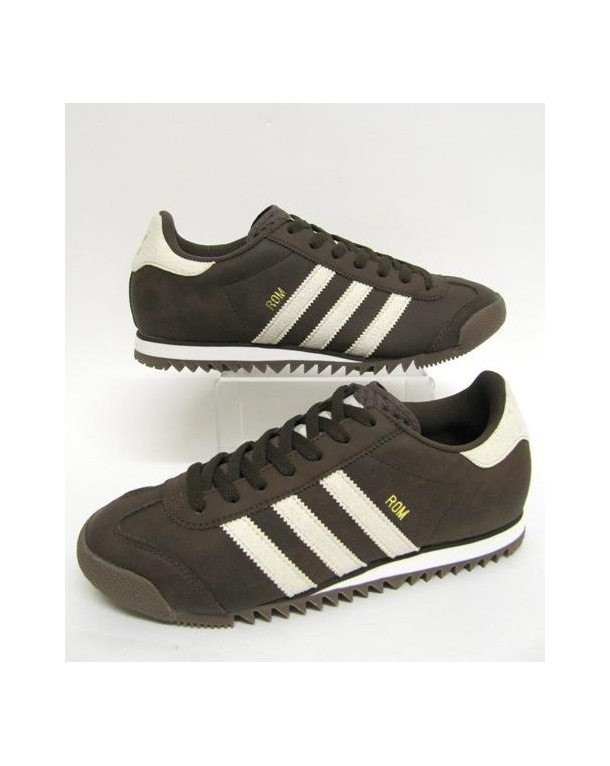 Adidas ROM Trainers Brown/Cream