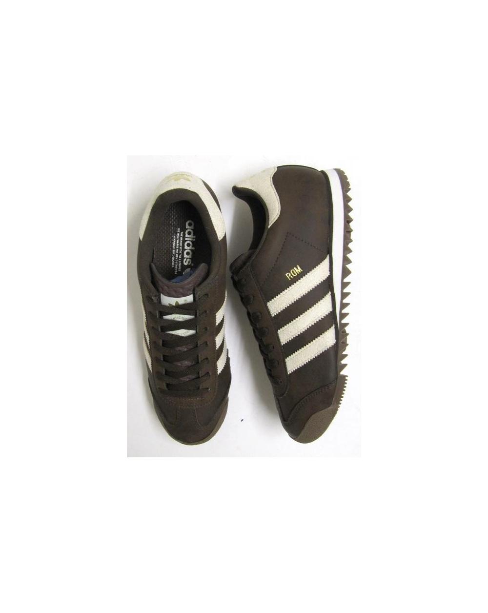 ec2873558f2 Adidas ROM Trainers Brown Cream