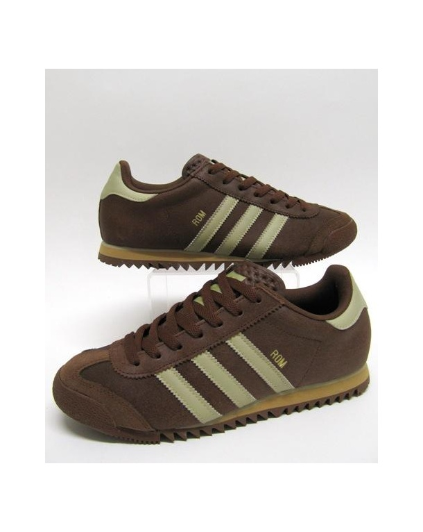 Brown Adidas Originals Trainers