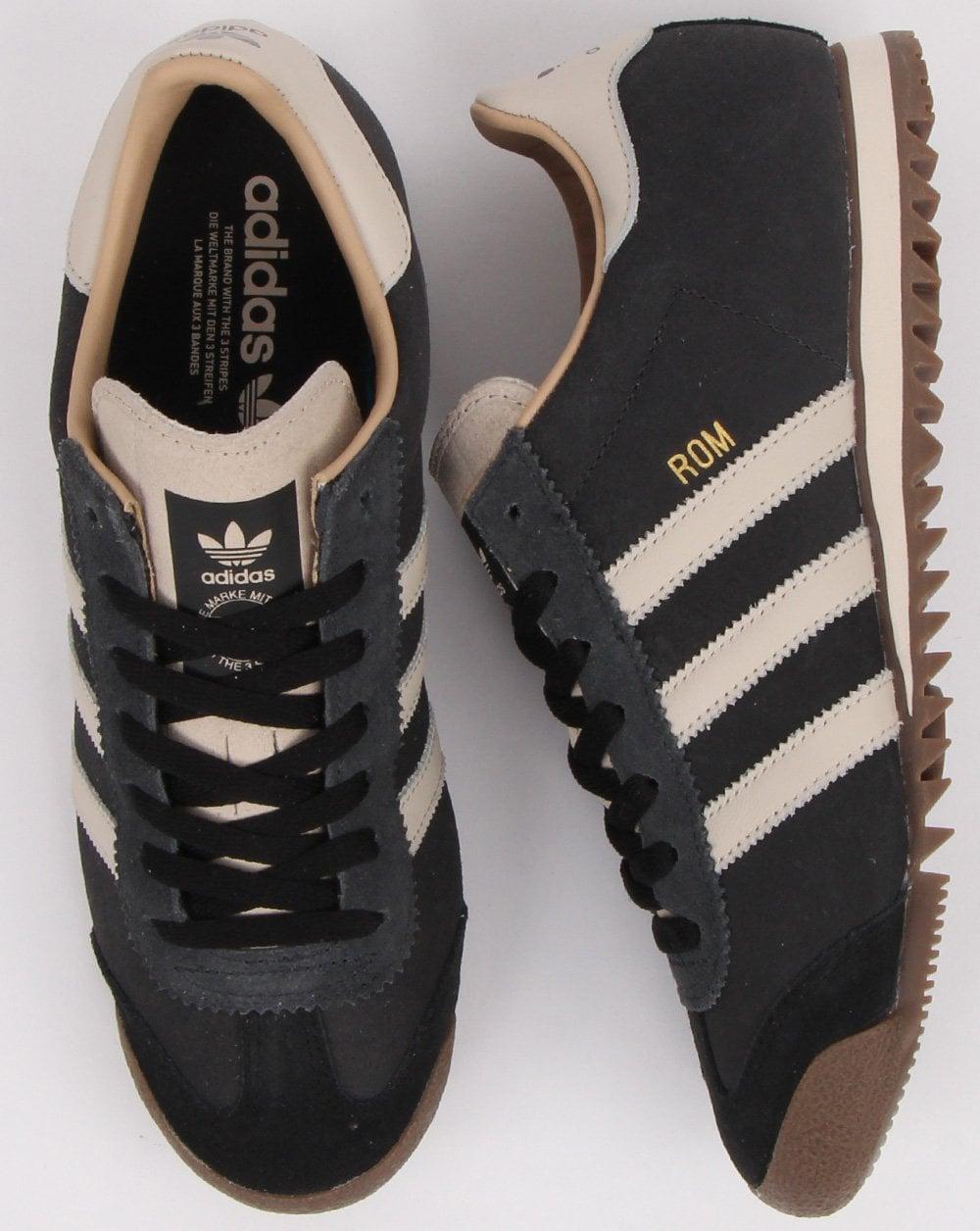 Adidas Rom Trainers Brown/Cream