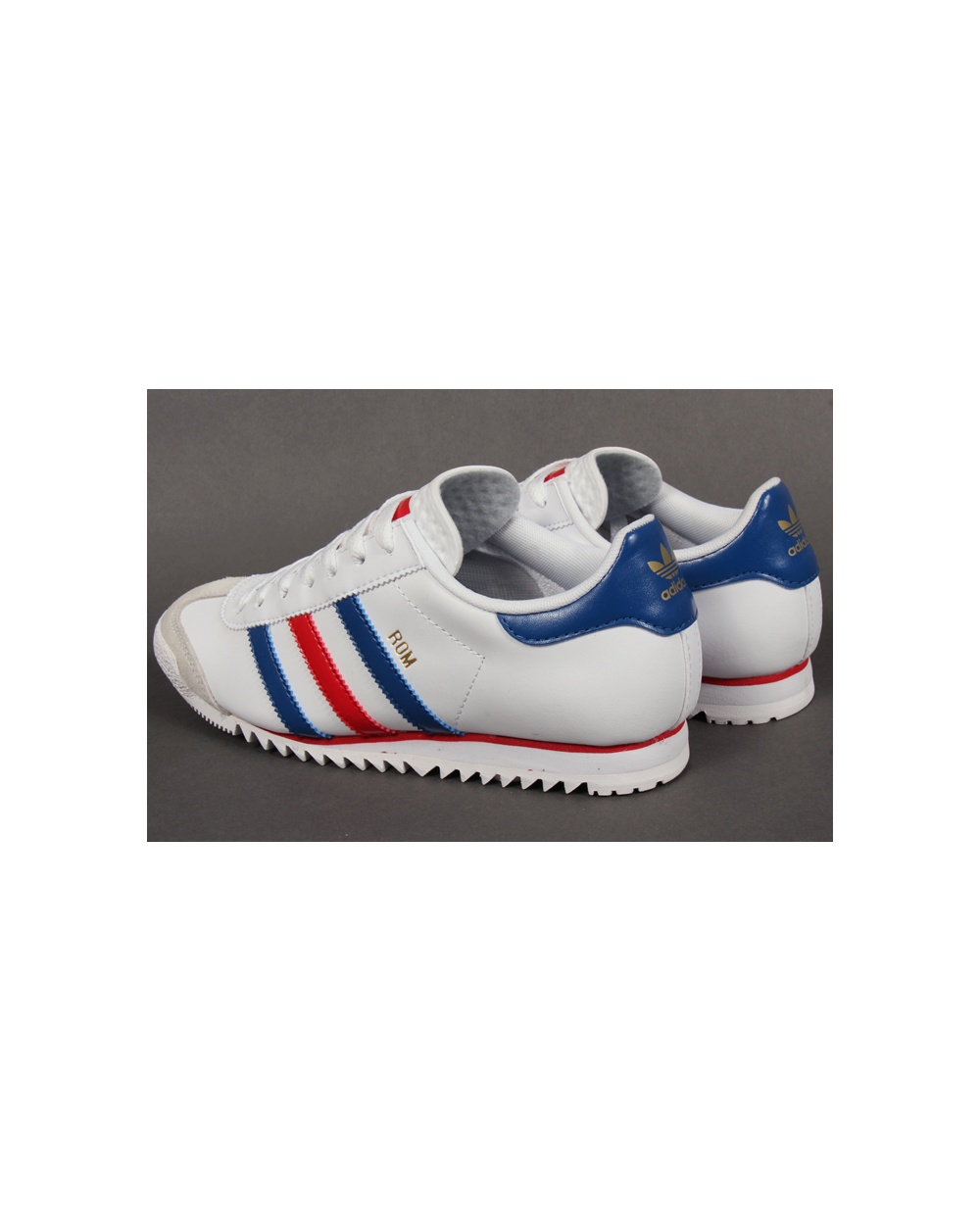 Adidas Rom Trainers White/red/blue