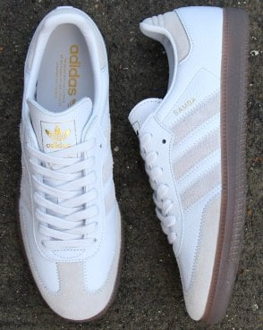 timeless design daf1f e5d41 adidas Trainers Adidas Samba Og Ft Trainers Crystal White