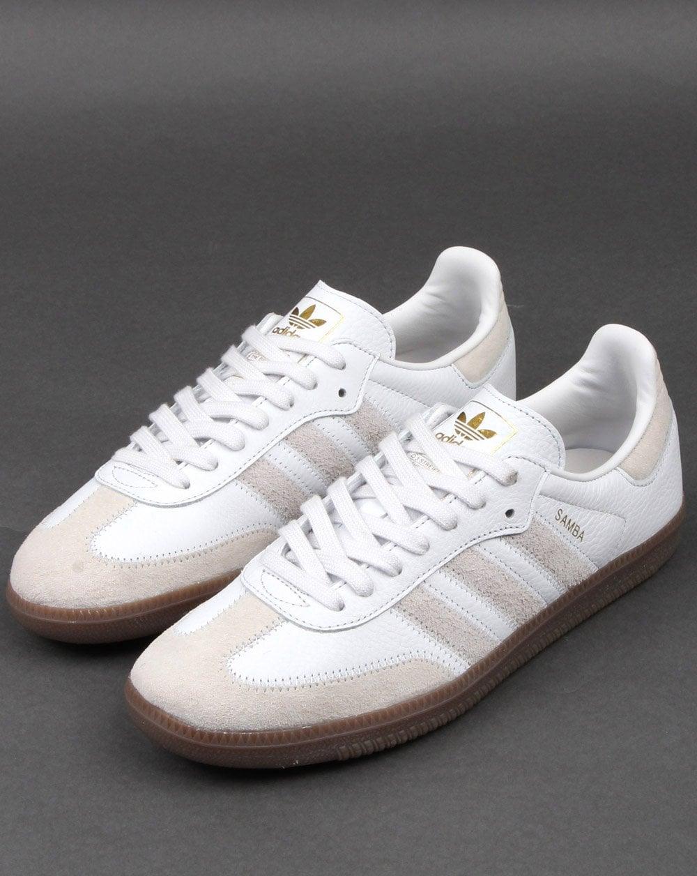 Adidas Samba Og Ft Trainers Crystal White 7dbfd80b4